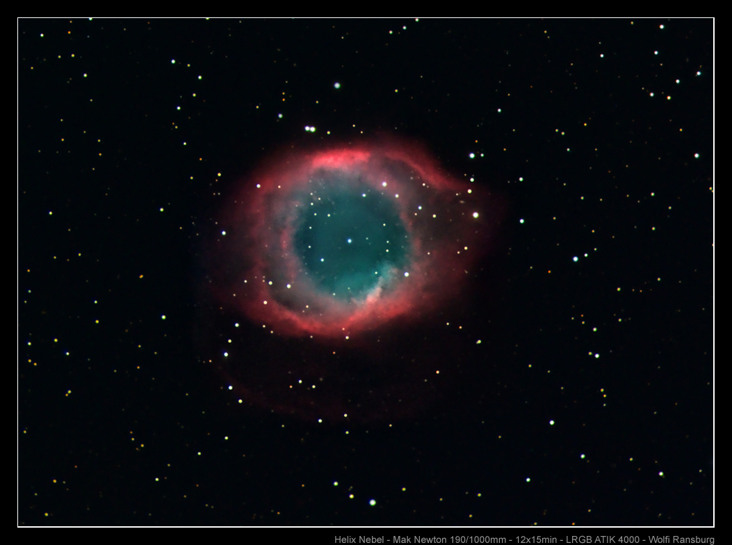 Helix Nebula taken Using the Explorer-190MN