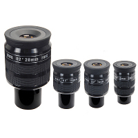 Nirvana<sup>TM</SUP> UWA-82&deg;  4mm/7mm/16mm High-Performance Eyepieces (1.25