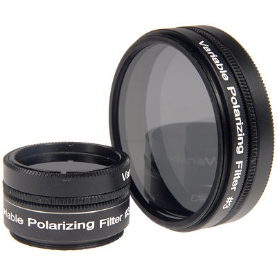 "Variable Polarising Filters 1.25"" and 2"""