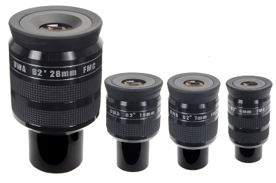 Nirvana™ UWA-82°  4mm/7mm/16mm High-Performance Eyepieces (1.25''/31.7mm)