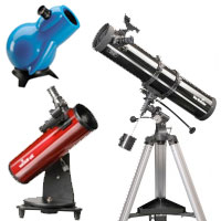 BEGINNER'S TELESCOPES